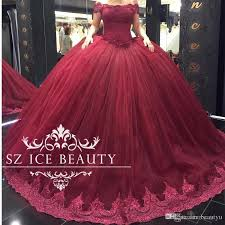 plus size burgundy quinceanera dresses with sleeves appliques