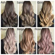 Types Of Hair Colour by Design Pictures Of Different Hair Colors Best 25 Ideas On