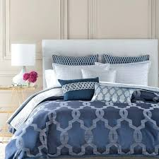 blue king size duvet cover set new hudson park bedding gramercy blue duvet cover set