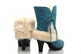 ugg boots womens heels s suede high heel green boots