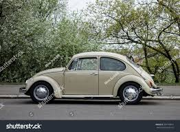 volkswagen car beetle old prague czech republic april 25 old stock photo 301740014