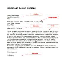 Standard Business Letter Format Template by Great Standard Business Letter Format U2013 Letter Format Writing