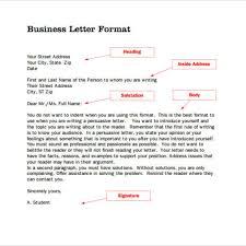 Business Letter Salutation Australia Great Standard Business Letter Format Letter Format Writing