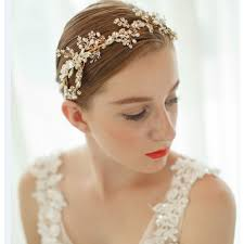 hair accessories for prom luxury bridal headband wedding tiara handmade bridal hair