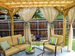 Outdoor Sheer Curtains For Patio Outdoor Curtains For Pergola With Unique Lighting Of Pergola Sheer