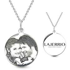 Personalized Photo Necklace Personalized Jewelry By Lajerrio Lajerrio Jewelry