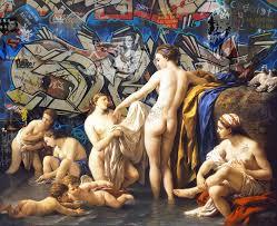 Classic Paint Street Art Et Fresques Classiques Par Marco Battaglini Wall