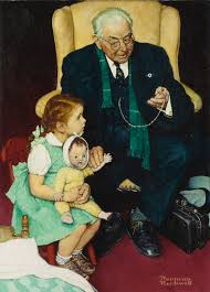 rockwell norman doctor and d figurative sotheby s