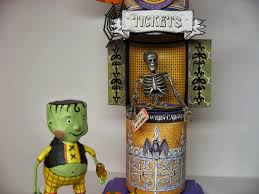 lori mitchell halloween craft knife chronicles halloween carnival ticket booth and