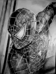 spider man drawing halitalm deviantart