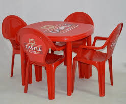 plastic table with chairs branded plastic table and chairs big eye branding