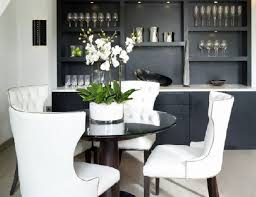 Leather Dining Room Chairs Dining Room Stunning White Leather Dining Room Chairs Wonderful