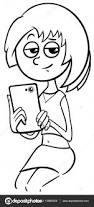 phone coloring u2014 stock vector izakowski 139850028