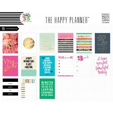 pocket cards me my big ideas the happy planner pocket cards pc 04 craftie