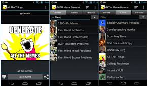 Meme Apps - best android apps to create meme from smartphones the android mania