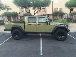 jeep commando custom 2013 commando green 5 7l brute double cab w 13k miles american