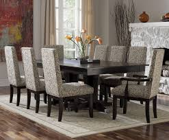 best dining room with wrought iron chairs plus white leather seat