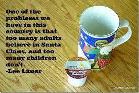 sunday morning coffee santa claus with ecscoffee quote
