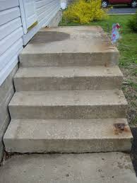 Concrete Patio Resurfacing Products by Refinishing Concrete Steps Doityourself Com Community Forums