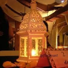 5 bulk lot chic white shabby lantern candle holder wedding