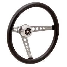 mustang steering wheels mustang steering wheel retro mustang 3 spoke foam 15 3 bolt