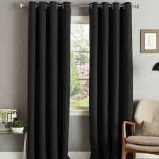Black Eyelet Curtains 66 X 90 Black Eyelet Curtains 66 X 90 Nrtradiant Com