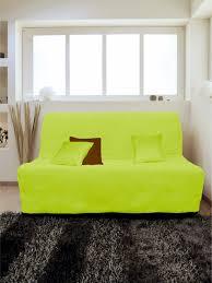 canape vert anis housse pour canapé bz adaptable couleur vert anis pas cher