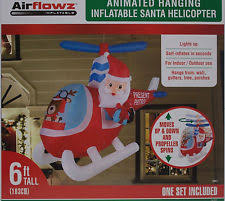 Animated Inflatable Christmas Yard Decorations by Animated Christmas Inflatable Ebay