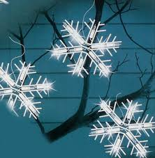 Led Snowflake Lights Outdoor by Christmas Snowflakeistmas Lights Strings Walmartsnowflake For