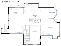 image of floor plan the final final final mountain fixer floor plan emily henderson