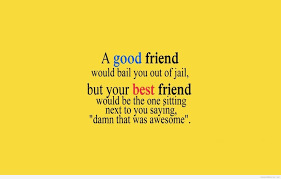 friend and best friend quote