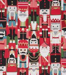 Nutcracker Crafts For Kids - christmas cotton fabric 45