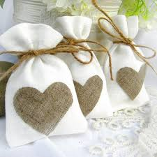 linen favor bags 10x14cm trendy white linen drawstring wedding favor bags