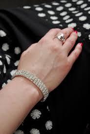 corsage wristlet wristlet rhinestone 0 4in