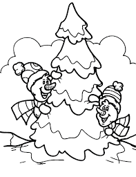 snowman merry christmas coloring pages christmas snowman