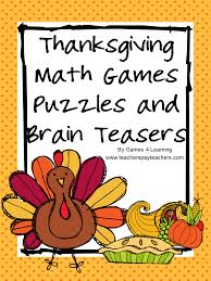 4 learning thanksgiving math