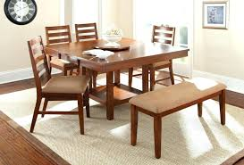table with bench seat dining room upholstered bench seating dining table with upholstered