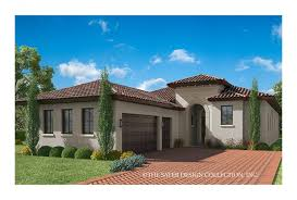 House Plans For Wide Lots Eplans Mediterranean Modern House Plan U2013 Narrow Lot Design With
