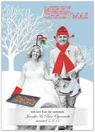 Newly Wed Christmas Card This Couple U0027s Christmas Cards Are So Awkward They U0027re Actually