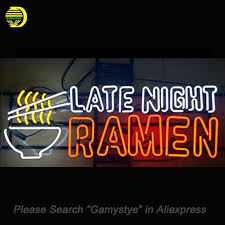 custom light up signs late night ramen neon sign bulb neon signs for sale real glass tube
