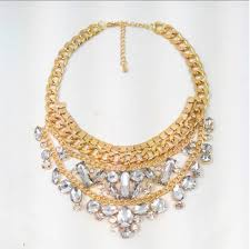 gold big chain necklace images Cheap black gold statement necklace find black gold statement jpg