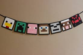 minecraft party decorations minecraft party theme lifes celebration