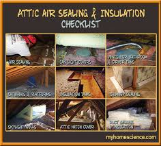 air sealing and insulation can craftsmanship in the attic myhomescience