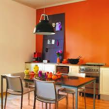 peinture orange cuisine decoration cuisine peinture decoration cuisine moderne et