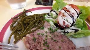 salicorne cuisine entrée salade de salicorne et terrine picture of l ecume bleue