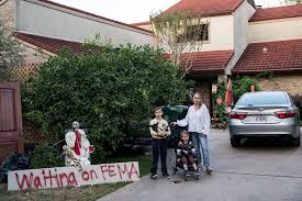 still waiting for fema in texas and florida after hurricanes the