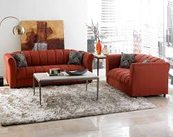 Living Room With Orange Sofa Furniture Beautiful Discount Living Room Sets Living Room Sets