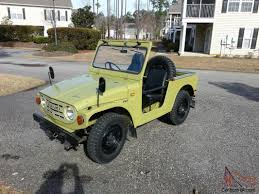 lj jeep for sale rare collectors suv 1971 suzuli lj10 very original with top and