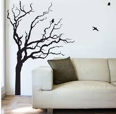 7 tree wall decals etsy baby nursery wall decals tree wall decal items similar to tree and birds wall decal on etsy