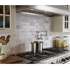 Kitchen Pot Filler Faucet Stainless Steel Lita Wall Mount Pot Filler Gt533 Pfs Pfister